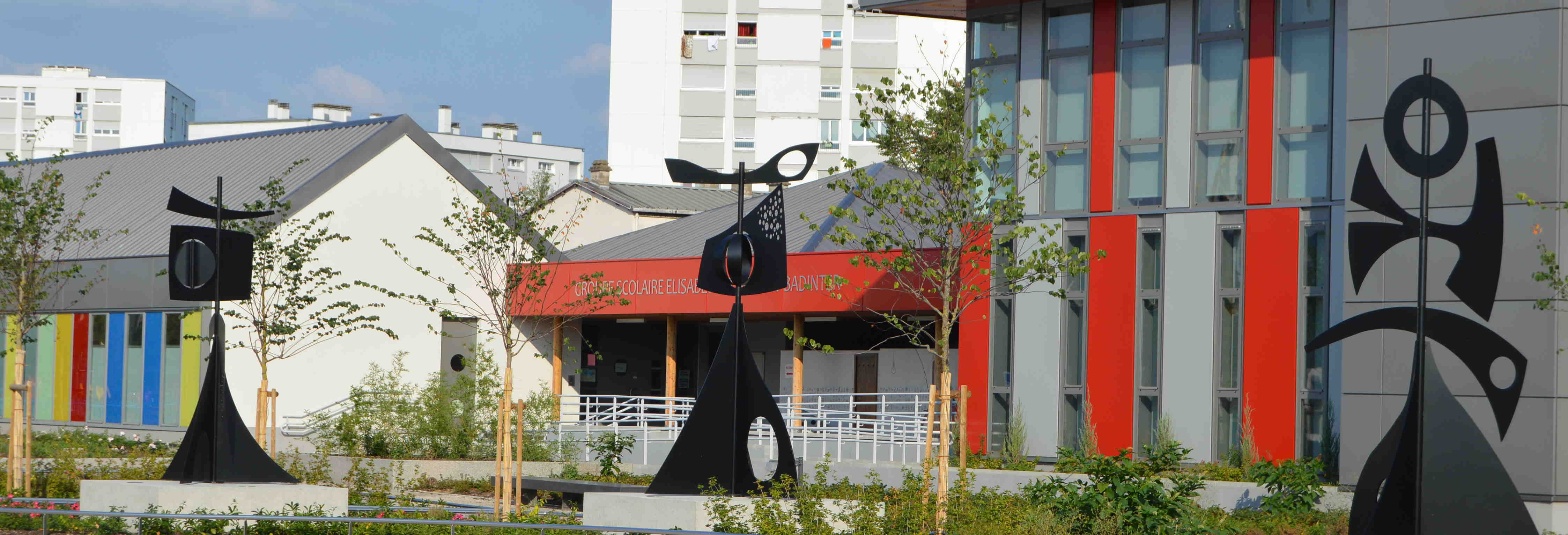Place des Arts - Sculptures de Philippe Hiquily